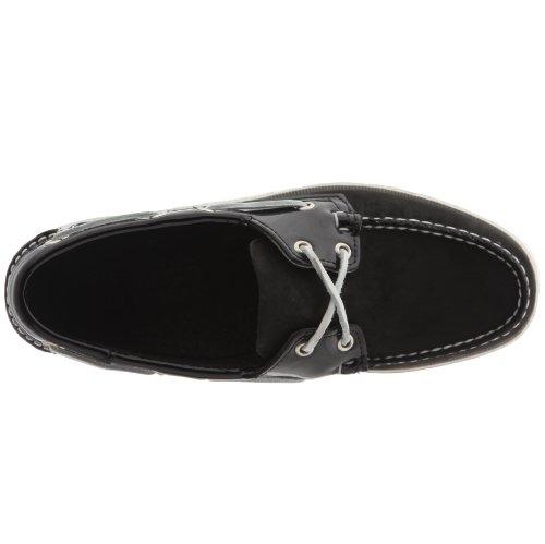 FGL Sebago Nero Shoes Boat NBK Noir Men's Verni Noir Spinnaker twYgnxStr