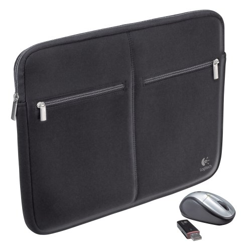 Logitech 15 4 Inch Notebook Sleeve Cordless product image