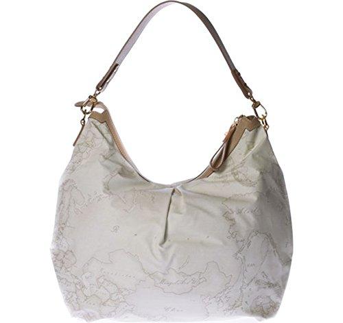 Borsa shopping sottospalla | Alviero Martini 1^Classe Geo Soft White | CN18463800900