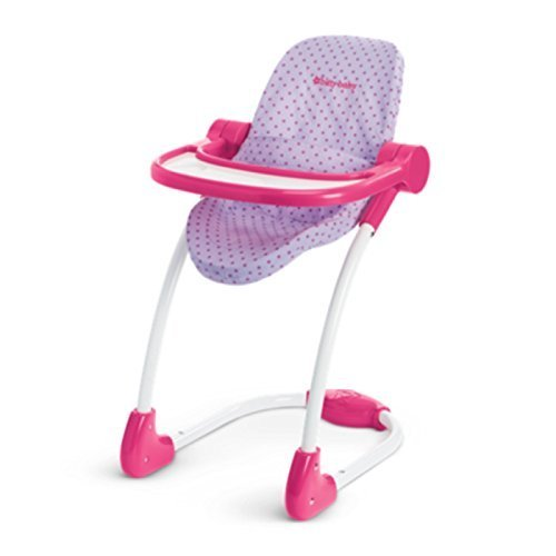American Girl Bitty Baby High Chair for 15'' Dolls (Doll Not Included)