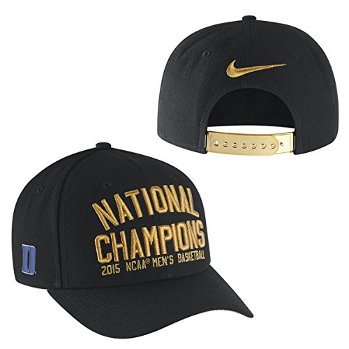 Duke Blue Devils Nike 2015 NCAA Men's Basketball National Champions Coaches Locker Room Adjustable Cap