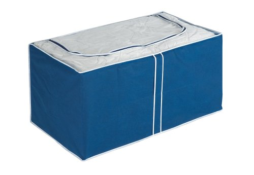 WENKO 4380631100 Jumbo-Box Air, 100 % Polypropylen, 91 x 48 x 53 cm, Blau