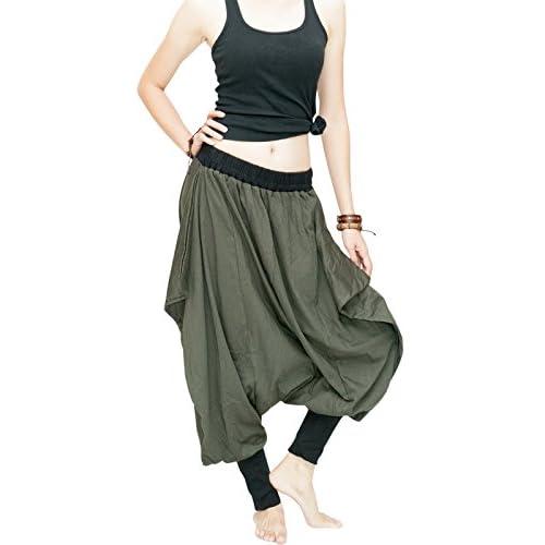 New BohoHill Urban Low Crotch Stretch Jersey Cotton Baggy Tobi Pants for cheap