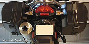 Moto Equip Black Reflective Sticker Kit made from 3M Scotchlite Vinyl tape for BMW F800GT Sidebags ME-RK-30