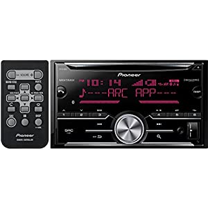 Pioneer FH-X730BS Vehicle Cd Digital Music Player Receivers, Black