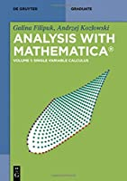Analysis With Mathematica Front Cover