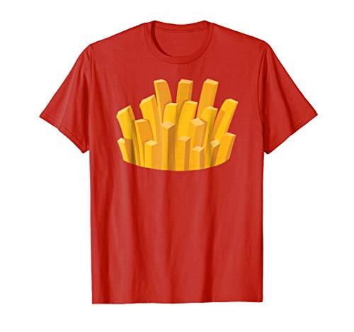 (French fries halloween costume)