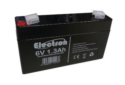 Batterie Per Lampade Di Emergenza Ova.Batteria Ermetica Ricaricabile Al Piombo 6v 1 3ah Amazon It
