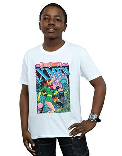 Phoenix T Blanc Dark Marvel shirt Garçon X Saga The men qxwFFPOH6R