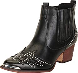 Western Pointed Toe Crystal Rhinestone Cowboy Boot