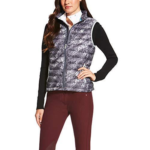 - ARIAT Women's Ideal Down Vest Fur Print Size Medium