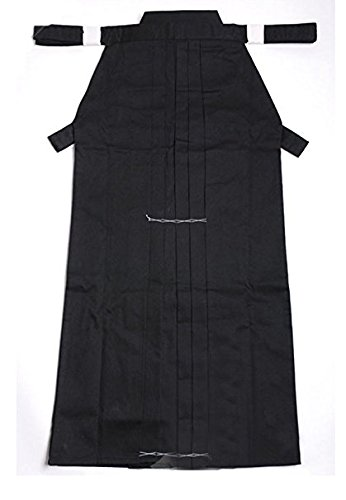 G-LIKE Kendo Martial Arts Uniform - Martial Arts Karate Male Clothing Kung Fu Aikido Uniform Jackets Keikogi Kendo GI and Hakama Pants Set For Man Women Beginner - Cotton (L, Black)
