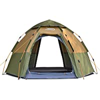 DESERT & FOX 3-5 Person Camping Tent,Easy Instant Setup...