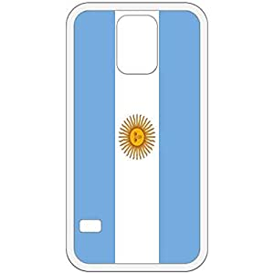 Argentina Flag White Samsung Galaxy S5 Cell Phone Case - Cover