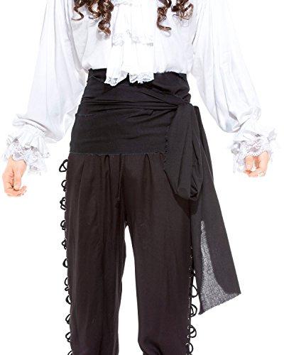 Pirate Medieval Renaissance Linen Large Sash