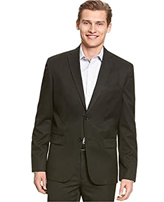 Calvin Klein Men's Core Classic-Fit Two-Button Solid Blazer