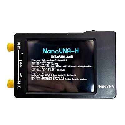 Luerme NanoVNA Vector Network Analyzer 50KHz-900MHz Vector Network Analyzer Kit MF HF VHF UHF Antenna Analyzer