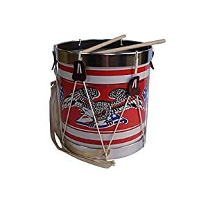 KIDS PATRIOTIC TOY DRUM Americana Field Drum #376 by Noble & Cooley