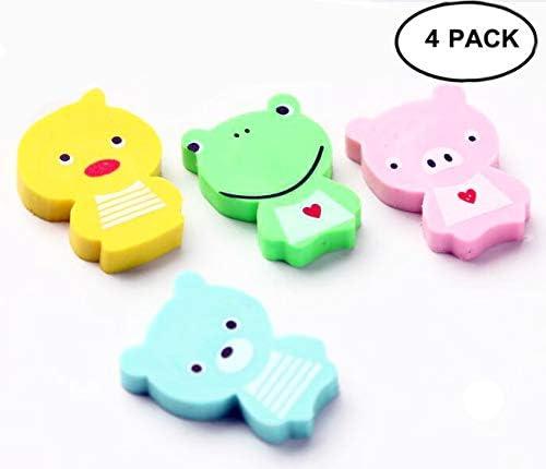 COOLEM Mini Kawaii - Goma de borrar para niños, diseño de Animales: Amazon.es: Hogar