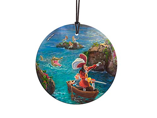 Trend Setters Disney Peter Pan - Captain Hook and SMEE Starfire Prints Hanging Glass]()