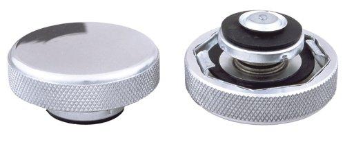 - Trans-Dapt Performance 6017 Billet Style Radiator Cap Polished Aluminum 16 lb. Pressure Rating Billet Style Radiator Cap