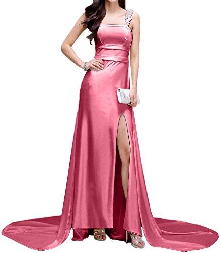 Missdressy - Vestido - Escotado por detrás - para mujer Wassermelone