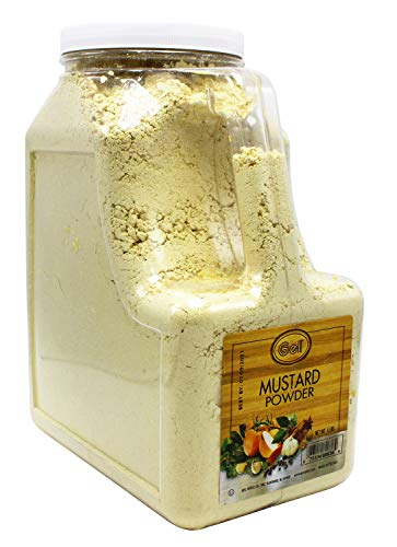 Gel Spice Mustard Powder 5 Lb | Food Service Size by Gel