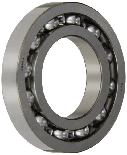 SKF 16006 Radial Bearing, Single Row, Deep Groove Design, ABEC 1 Precision, Open, Normal Clearance, Steel Cage, Metric, 30mm Bore, 55mm OD, 9mm Width, 1650lbf Static Load Capacity, 2520lbf Dynamic Load Capacity