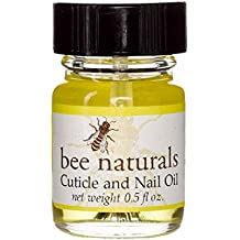 Best All Natural Cuticle Oil - Bee Naturals Nail Oil Helps Cracked Nails and Rigid Cuticles - Perfect Vitamin E Enriched Treatment for Moisture, Softness & Health - Anti-Fungal Tea Tree Essential Oils