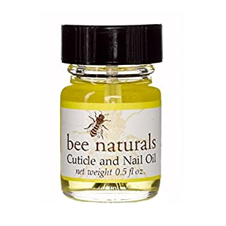 Bee Natural Best Cuticle Oil - Nail Oil Helps All Cracked Nails and Rigid Cuticles - Perfect Vitamin E Enriched Treatment for Moisture, Softness & Health - Tea Tree Essential Oils