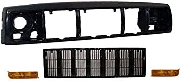CarPartsDepot 404-26108 CH1220115 55055233AE Front Header Panel Mounted Plastic Grille Opening Nose Panel