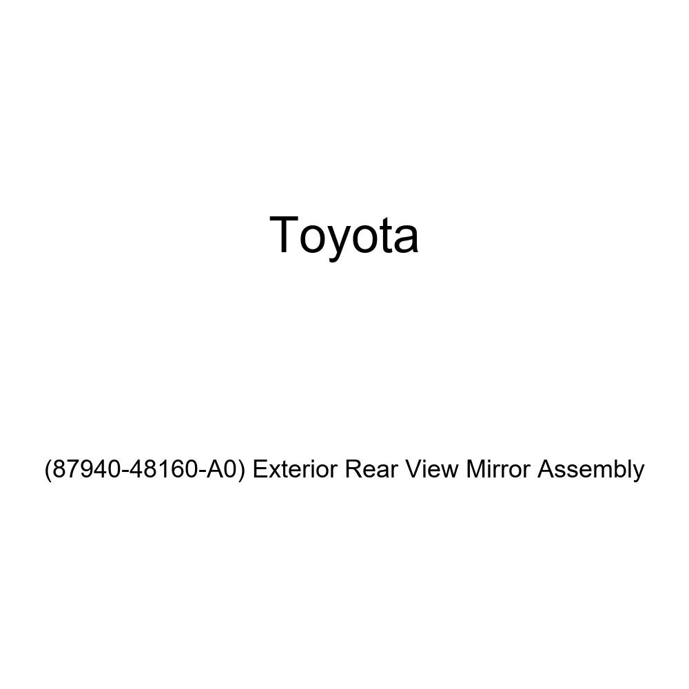 Exterior Rear View Mirror Assembly 87940-48160-A0 Genuine Toyota