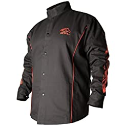 Black Stallion BSX FR Welding Jacket - B...