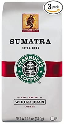 Starbucks Sumatra, Whole Bean Coffee