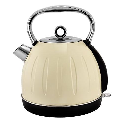 TKG Bouilloire Vintage, 2200 W, 1.7 Liters, Crème