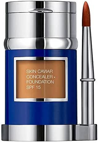 Skin Caviar Concealer Foundation SPF15 New Packaging by La Prairie Foundation Concealer 2g -Shade: N-20 Pure Ivory 30ml