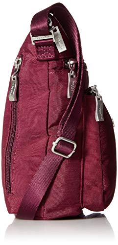 with Rfid Crossbody Eggplant Baggallini Pocket E8qfw5xg