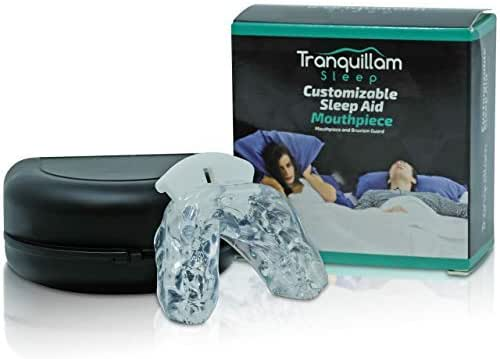 Tranquillam Sleep Custom Molded Night Mouth Guard- Sleep Aid Eliminatot- Fit To Cure Your Worst Nights Sleep! Designed By Tranquillam Sleep