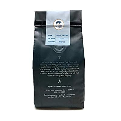 100% Kona green coffee beans – 'Extra Fancy' unroasted Hawaiian Kona green bean (16 oz), from Big Island Coffee Roasters