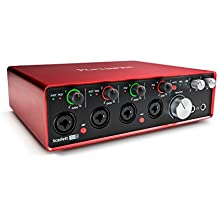 Focusrite Scarlett 18i8 (2nd Gen) USB Audio Interface with Pro Tools   First