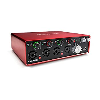 Image of Focusrite Scarlett 18i8 (2nd Gen) USB Audio Interface with Pro Tools   First Audio Interfaces