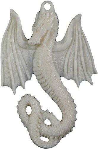 Curious Designs Arched Dragon - Bone Pendant