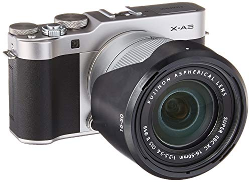 Fujifilm X-A3 Mirrorless Digital Camera with 16-50mm Len (Silver) Review