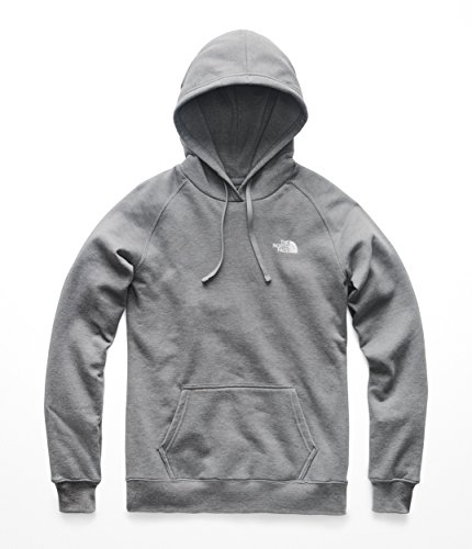 The North Face Women's's Red Box Pullover Hoodie - TNF Medium Grey Heather & TNF White - ()