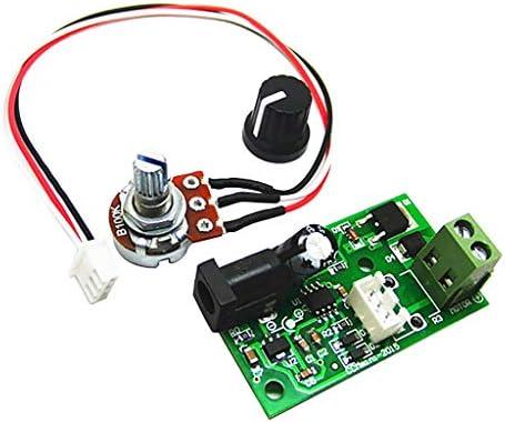 ZJN-JN DCモータースピードコントローラーDC 6V〜28V 3A DCモータドライバモジュール 工業用モータ