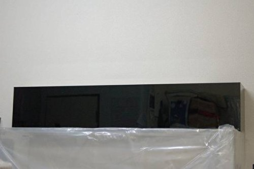 【1200水槽用上部フィルター】1200mm×200mm×230mm 塩ビ黒上部ろ過槽 B074882TTQ