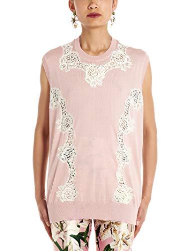 (Dolce e Gabbana Women's Fx487tjamxus9000 Pink Wool)