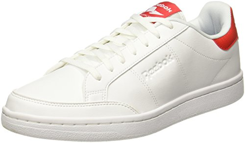 Reebok Mens Blanc Baskets Smash Royal (blanc / Rouge Primaire)