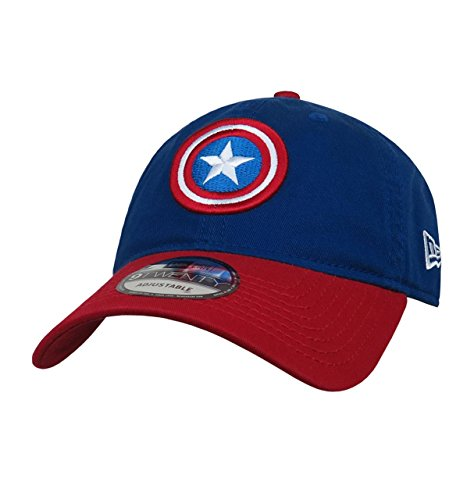 Captain America Shield 9Twenty Adjustable Hat (Shield New Era)