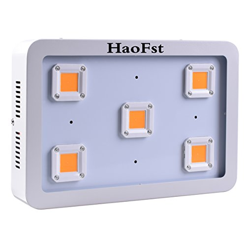Excellent X5 COB 1500W LED Grow Light,Sunshine Full Spectrum Grow Light for Greenhouse and Indoor Plant Flowering Growing (White)